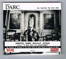 DANIEL DARC - LA TAILLE DE MON ÂME - CD 16 TITRES - 2010 - NEUF NEW NEU