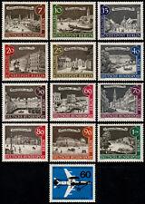 ✔️ BERLIN 1962 - COMPLETE YEAR SET - MI. 218/230 ** MNH OG [DB218Y]
