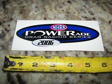 2006 Powerade NHRA Drag Racing Series - NHRA Racing Stickers