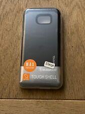 Mobile Gear Tough Shell Case Cover for Samsung Galaxy S7 Edge case - Black