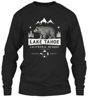 Lake Tahoe California Nevada Gildan Long Sleeve Tee T-Shirt
