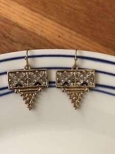 New Samantha Wills earrings in gold & crystals