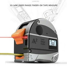 Digital Laser Tape Measure Distance Meter Laser Measure Range Finder 40M