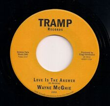 70s FUNK 7 45 WAYNE McGHIE - LOVE IS THE ANSWER / THE LOVE YOU SAVE - TRAMP