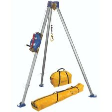Falltech 7500s Confined Space Tripod Kit With60 Self Retracting Lifeline
