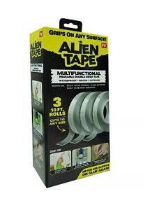 Alien Tape - Instantly Locks Anything into Place Without Screws - Adhesive Tape