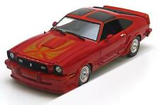 FORD MUSTANG 2 KING COBRA 1978 RED ORANGE GREENLIGHT COLLECTIBLES 12879 1/18