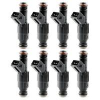 Quality Set (8) 47lb 47# EV1 Fuel Injectors For Chevrolet Ford V8 LT1 LS1 LS6