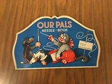 FD023_OUR PALS_NEEDLE - BOOK_ASSORTED NEEDLES_PORTA AGHI EPOCA IN CARTA