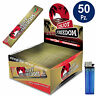 Cartine ENJOY FREEDOM LUNGHE GOLD King Size Slim 1 BOX 50 libretti