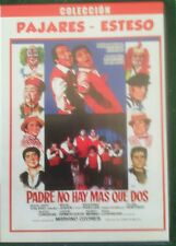 Dvd Cine Español. Padre no hay más que dos  con Andrés Pajares y Esteso