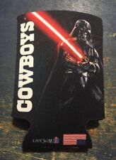 Officially LIcensed Star Wars Dallas Cowboys Drink Insulator Beer Coozie Promo