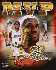 2013 Miami Heat LEBRON JAMES Glossy 8x10 Photo NBA Champion Poster 2x MVP Print