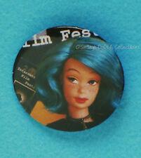 "MODERN CIRCLE MELODY Barbie 2¼"" Pin Fantasy Pinback~NEW"