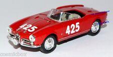 SOLIDO voiture Italienne sport rouge ALFA ROMEO GIULIETTA SPIDER de 1958 auto