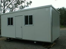 BRANDNEW PORTABLE OFFICE, SITE SHED,BUILDING 6mx3mx2.6m (LxWxH)