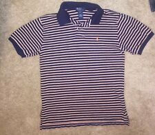 Polo Ralph Lauren Boys 100% Cotton Short Sleeve Polo Shirt Size Medium 12/14