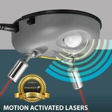 Dual 2 Car Laser Garage Auto Parking Sensor Assist Aid Guide Stop Light System