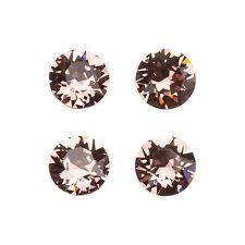 Swarovski 1088 Crystal XIRIUS Chatons Blush Rose Foil Back 8mm (E98/2)