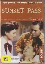 SUNSET PASS DVD 1946 James Warren, Nan Leslie Western Old Movie - BRAND NEW