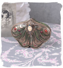 Caja de pastillas Joyero estilo moderno Cabeza mujer antiguo bote CON TAPA