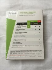 Microsoft Office Home and Student 2013 (1 User PC) Genuine,Sealed,Brand New.