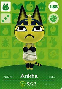 Ankha NFC Amiibo Card #264 Animal Crossing