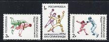 RUSSIA 1992 SUMMER OLYMPICS/BARCELONA/FENCING/HANDBALL/JUDO MNH