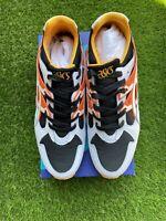 ASICS Tiger GEL-Kayano Trainer Shoes 1191A200 White Orange Yellow Men's Size 9