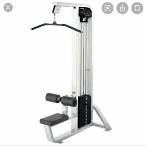 Seated latpulldown hammer strength commercial gym equipment