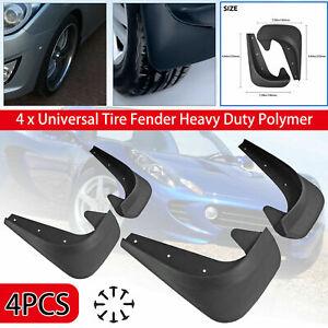 4Pcs Universal Car Mud Flaps Splash Guards Front Rear Fender Auto Accessories
