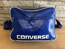 CONVERSE Unisex Royal Blue Airline Messenger Gym Sports Shoulder Bag