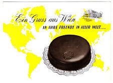 Werbeprospekt, Hotel Scher Wien, Sacher - Torte zum Versand, 1960er