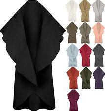 Women's 100% Wool Solid Basic Coats