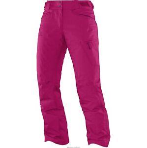 Salomon Women's Fantasy Ski Pant, Daisy Pink, Size Small NEW RRP £150