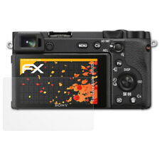 atFoliX 3x Screen Protector voor Sony Alpha a6600 mat&schokbestendig