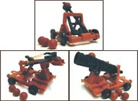1:32 Medieval Armor Set Plastic Toy Soldier Figures In Bag Catapult Cannon Bow