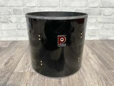 """More details for premier apk rack tom drum shell 12""""x11"""" bare wood project / upcycle"""