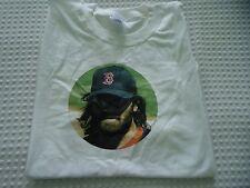 Men's size XL Johnny Damon Disciples Red Sox Portrait White Tee Shirt
