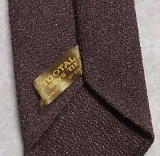 TOOTAL BOYS TIE VINTAGE 1960s 1970s MINI MOD AGE 6-10 SHIMMERY BROWN