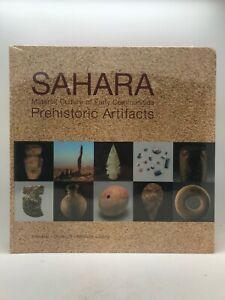 SAHARA - MATERIAL CULTURE OF EARLY COMMUNITIES - PREHISTORIC ARTIFACTS BOOK