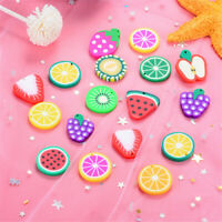 2-3cm Polymer Clay Cabochons Fruit Shaped Charms DIY Jewellery Accessories 20pcs
