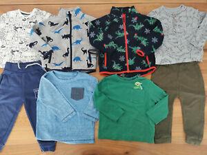 boys 12-18 months bundle autumn winter top joggers jumper Next Dunnes F&F