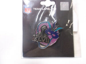 Super Bowl XLVII (47) Glitter Mask Pin