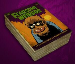 FEARSOME WEIRDOS by Robert Jimenez 36 Card Trading Card Set Monsters Lowbrow Art
