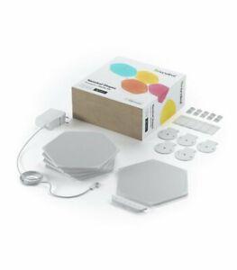 NANOLEAF 5 Panel Hexagon Shape Starter Kit Mini, Works with Apple Homekit