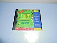 "Cd-Rom Educational Scholastics ""I Spy"" Language Arts Ages 5-9"
