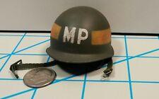 DID WWII US Bryan Military Police Metal Helmet 1/6 Toys Soldier dragon GI Joe MP