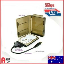 USB 3.0 SuperSpeed to Notebook Hard Disk HDD Converter / Adapter with PP Case