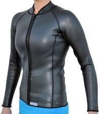 Women's 2mm SmoothSkin Wetsuit Jacket, Full Zipper, Long Sleeve Size: Small-New